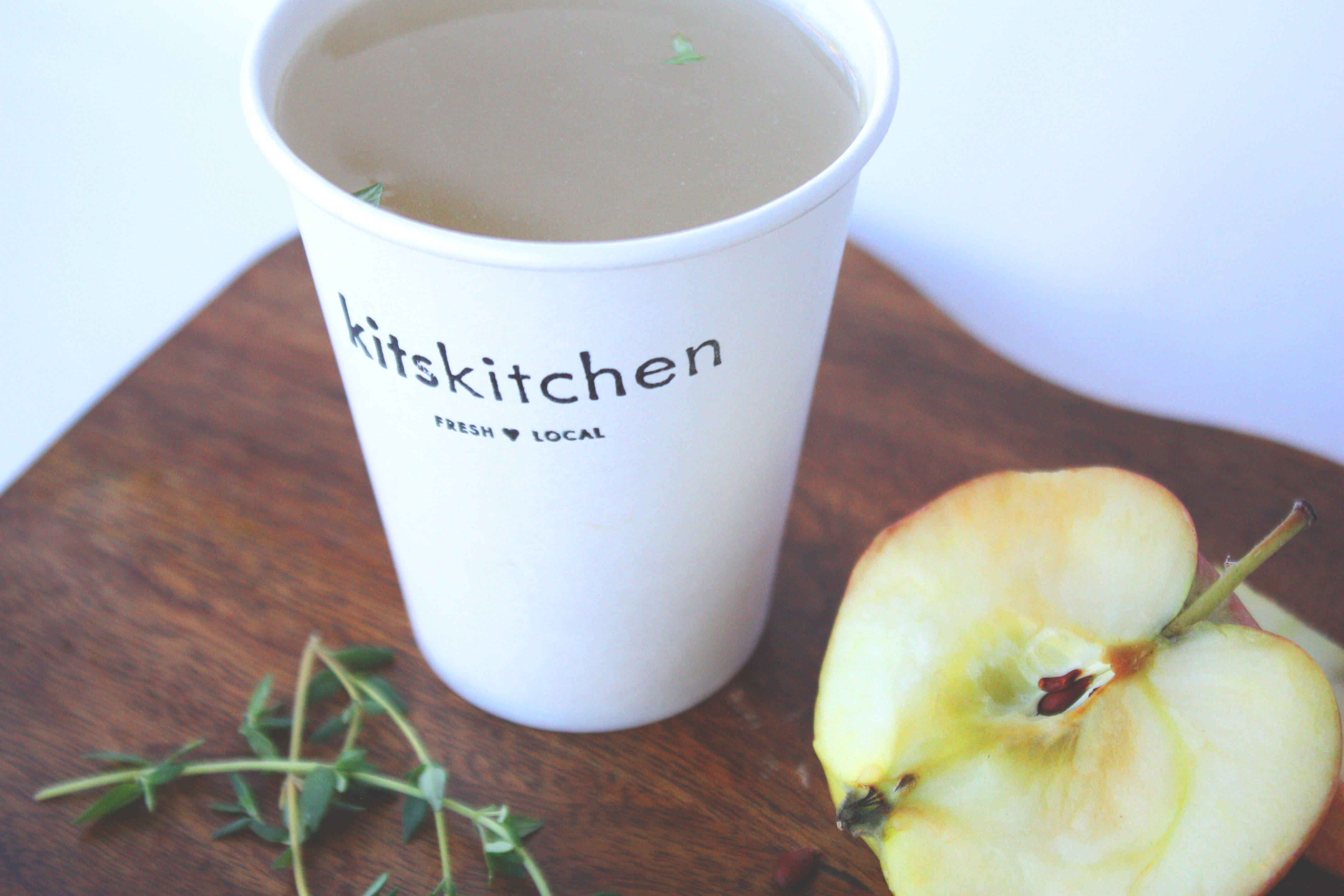 kitskitchen infused chicken broth