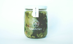 garlic + kale