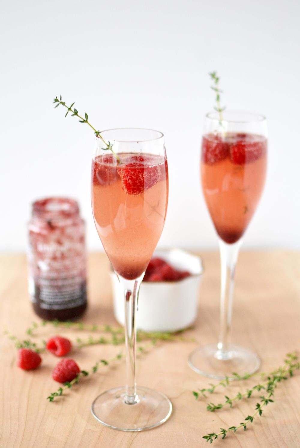 kitskitchen Jam Cocktail Valentine's Day