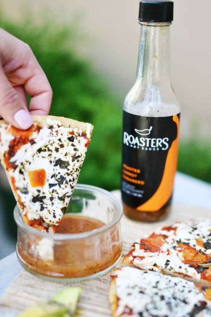 Roasters Hot Sauce, Daiya Gluten Free Dairy-Free Pizza, kitskitchen
